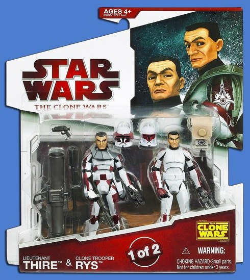 Hasbro Star Wars Clone Wars Pack Warriors and droids  Figurine Collector