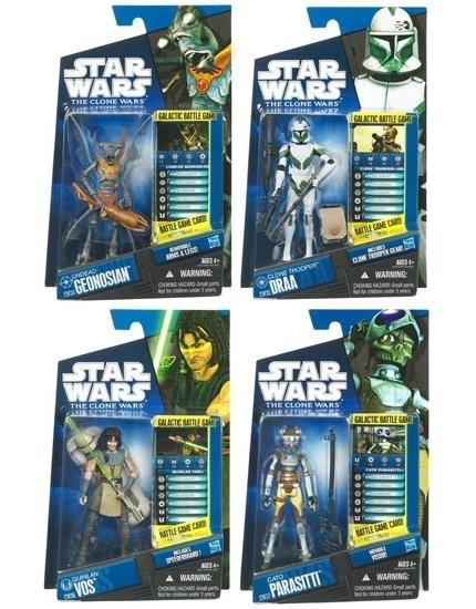 MintInBox  Hasbro : The Clone Wars Figures 2012 Wave 1