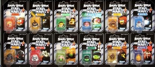 Star Wars  A2503E270  Accessoire Figurine  Angry Birds  Early Bird Pack